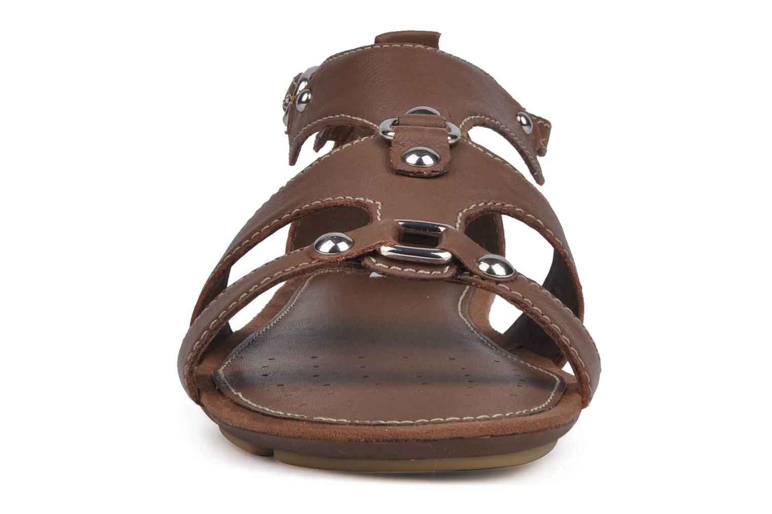 Sandals Geox D felisa b Brown model view