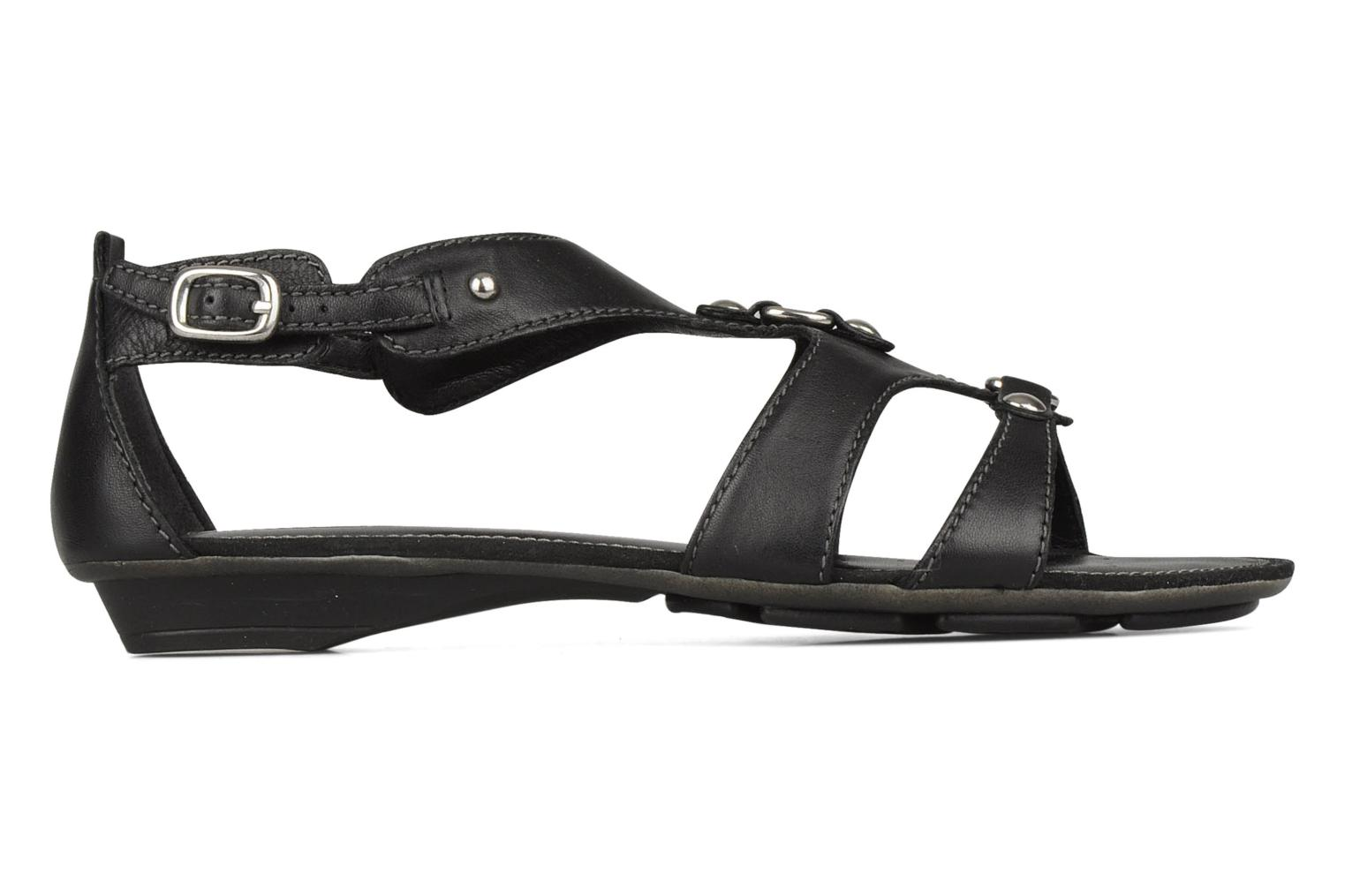 Sandals Geox D felisa b Black back view