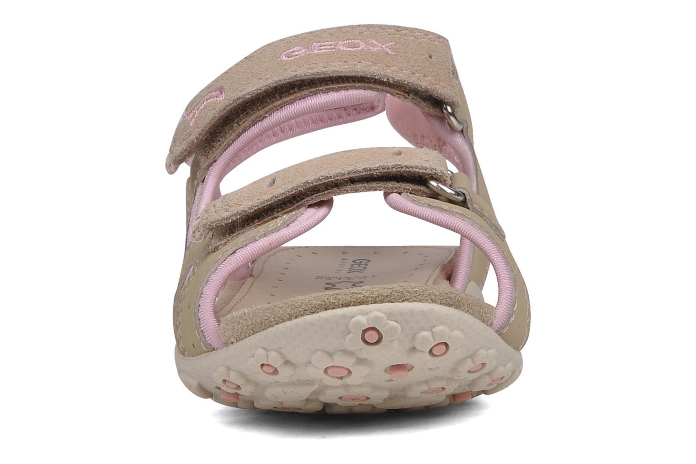 Sport shoes Geox J s.roxanne r Beige model view