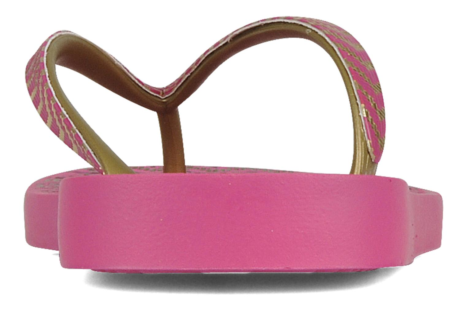 Tongs Ipanema Classic trends iii f Rose vue droite