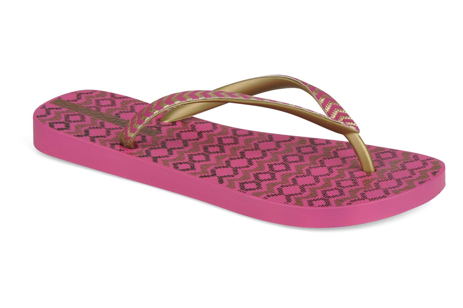 Tongs Ipanema Classic trends iii f Rose vue détail/paire
