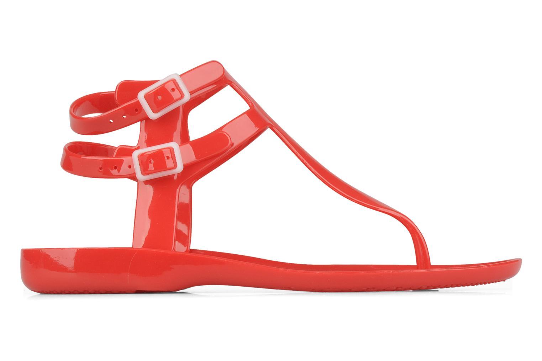 Sandales et nu-pieds Carvela Kink Rouge vue derrière