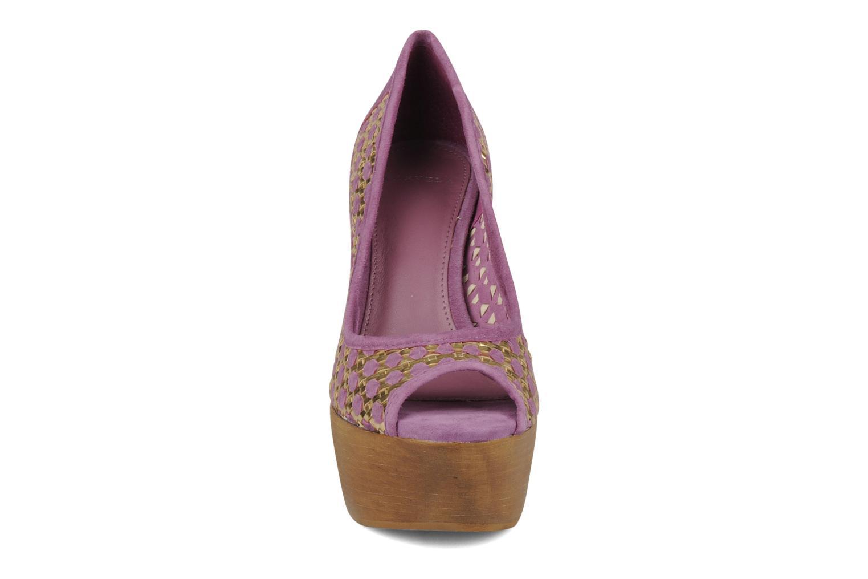 Escarpins Carvela Angle Violet vue portées chaussures