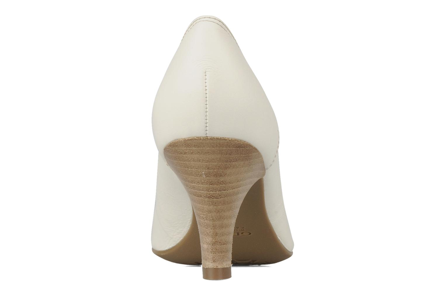 High heels Geox D cherie a White view from the right
