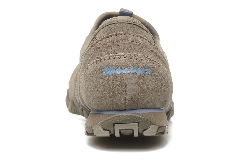 Baskets Skechers Hot-ticket 21159 Beige vue droite