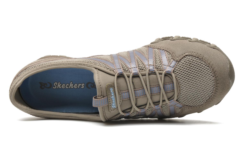 Baskets Skechers Hot-ticket 21159 Beige vue gauche