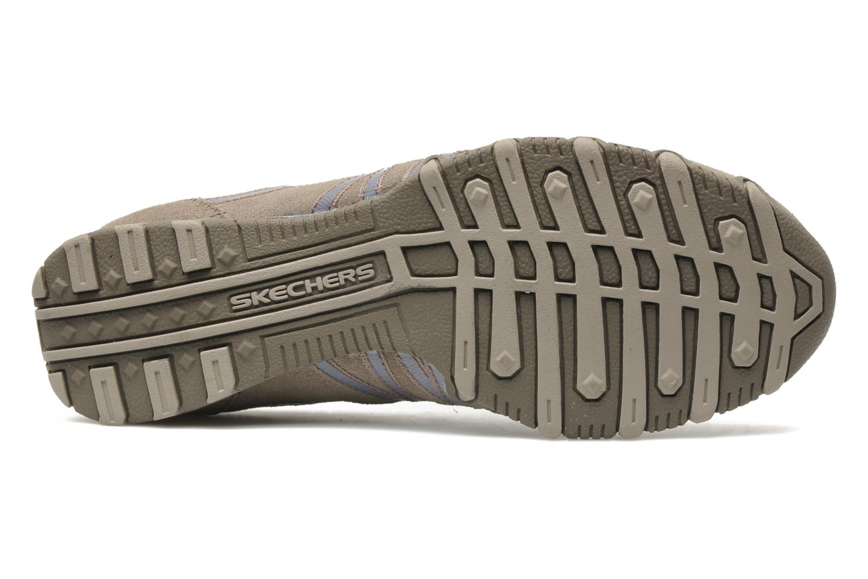 Sneaker Skechers Hot-ticket 21159 beige ansicht von oben