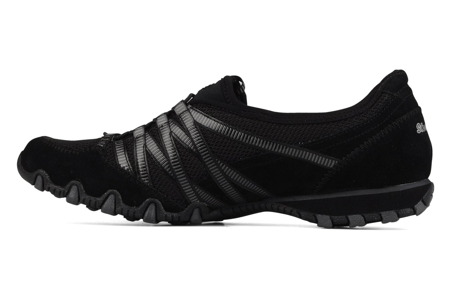 Trainers Skechers Hot-ticket 21159 Black front view