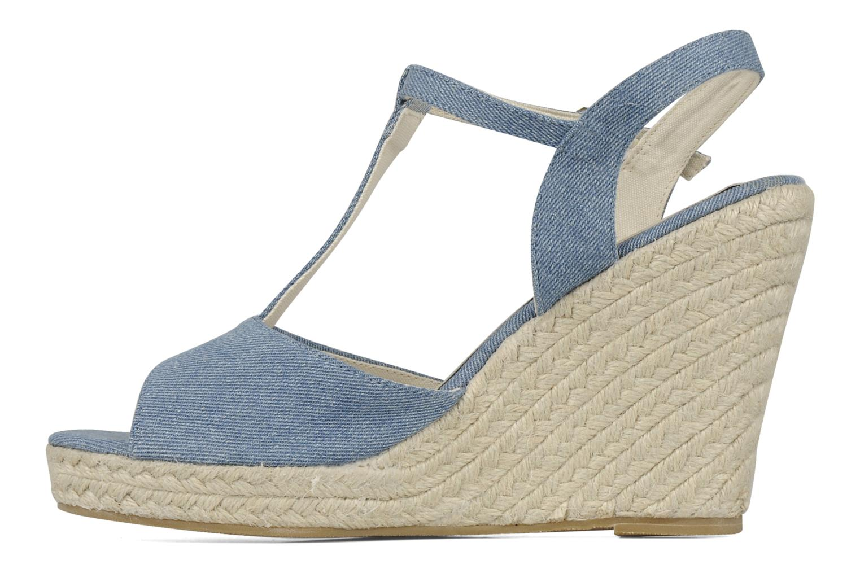 Sandales et nu-pieds Georgia Rose Uly Bleu vue face