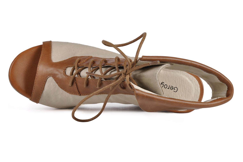 Bottines et boots Georgia Rose Calisto Beige vue gauche