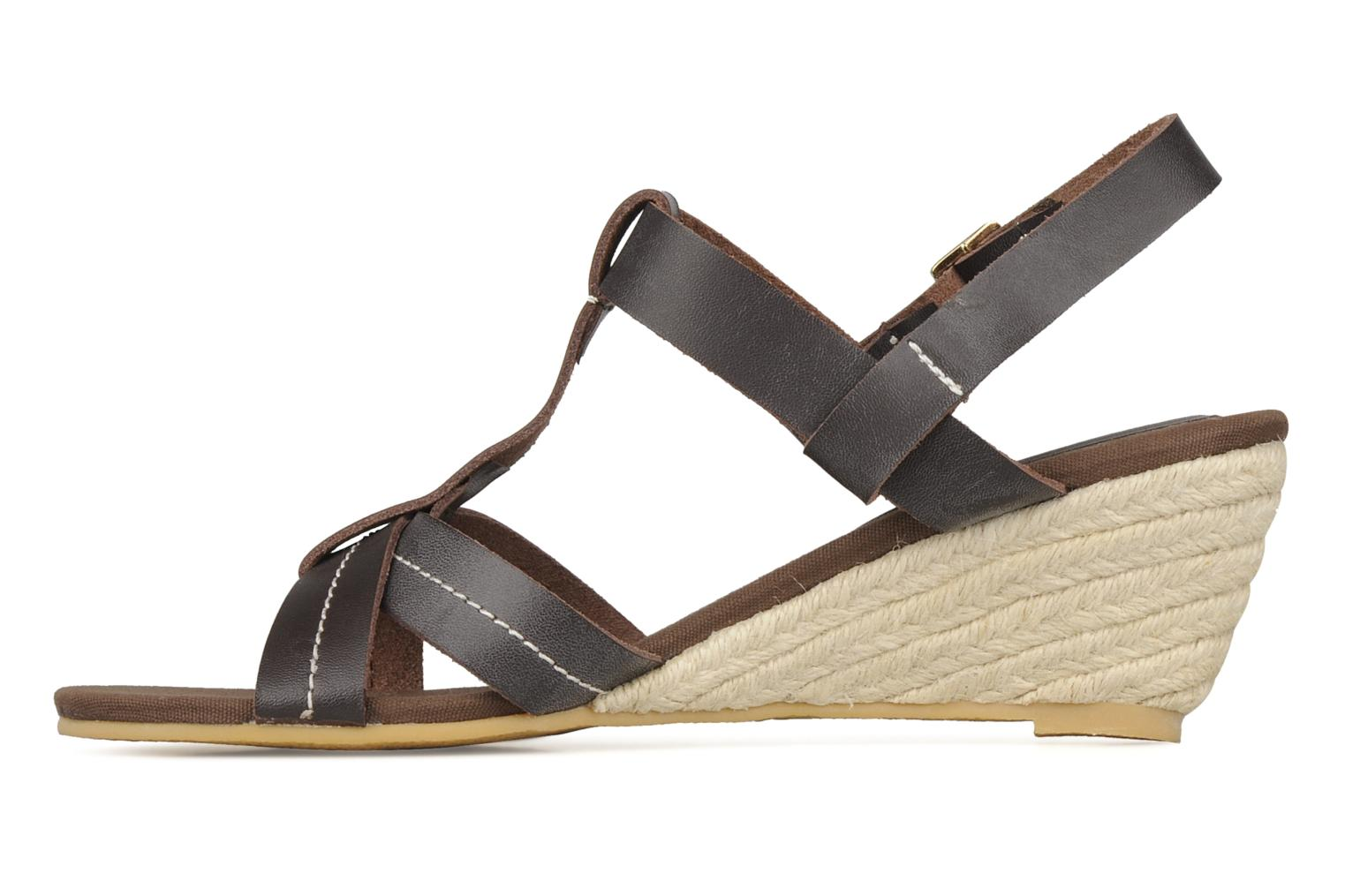 Sandals Georgia Rose Mirna Brown front view