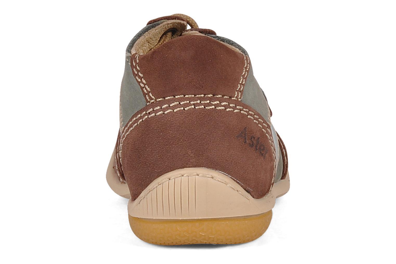 Bottines et boots Aster Bapi Marron vue droite