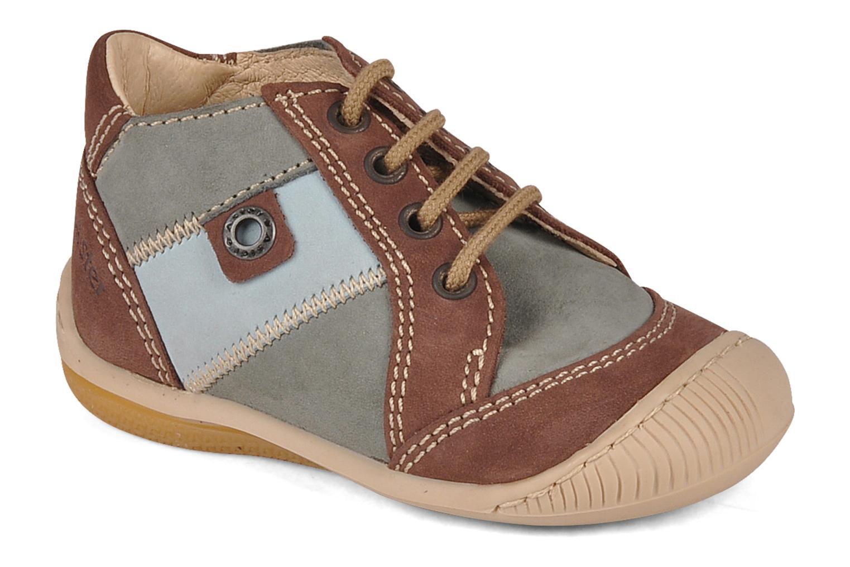 Bottines et boots Aster Bapi Marron vue détail/paire