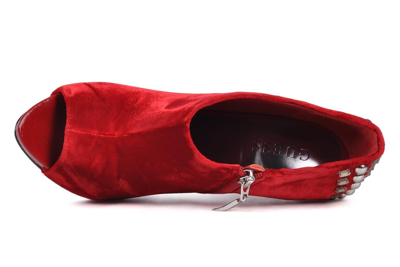 Bottines et boots Guess Trynt Rouge vue gauche