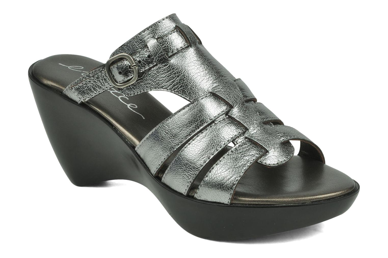 Sandales et nu-pieds Espace Angie Argent vue détail/paire
