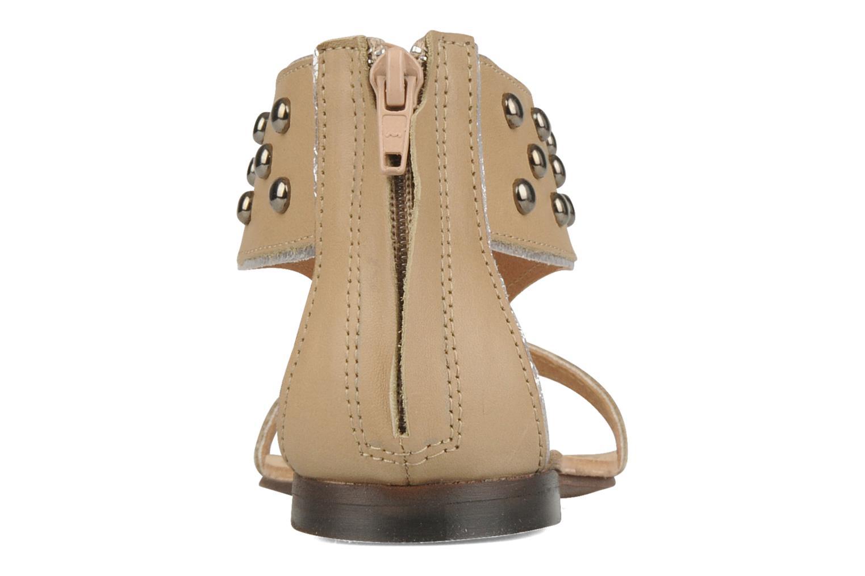 Sandales et nu-pieds Rosemetal Taylor Beige vue droite