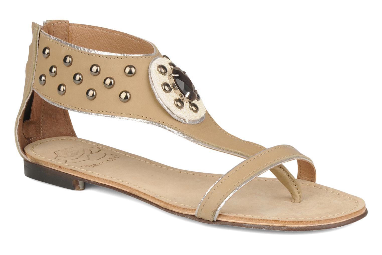 Sandales et nu-pieds Rosemetal Taylor Beige vue détail/paire