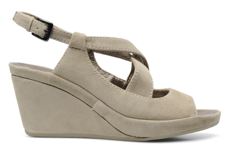 Sandales et nu-pieds Rosemetal Laney Beige vue derrière