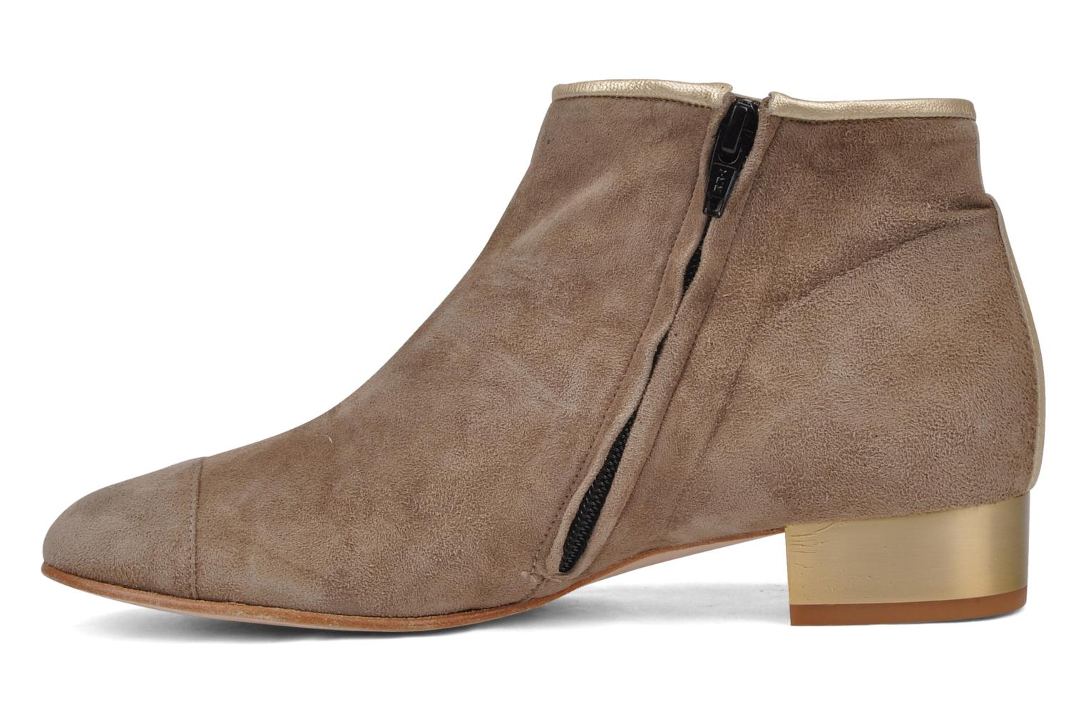 Ankle boots Mellow Yellow Jane Beige front view