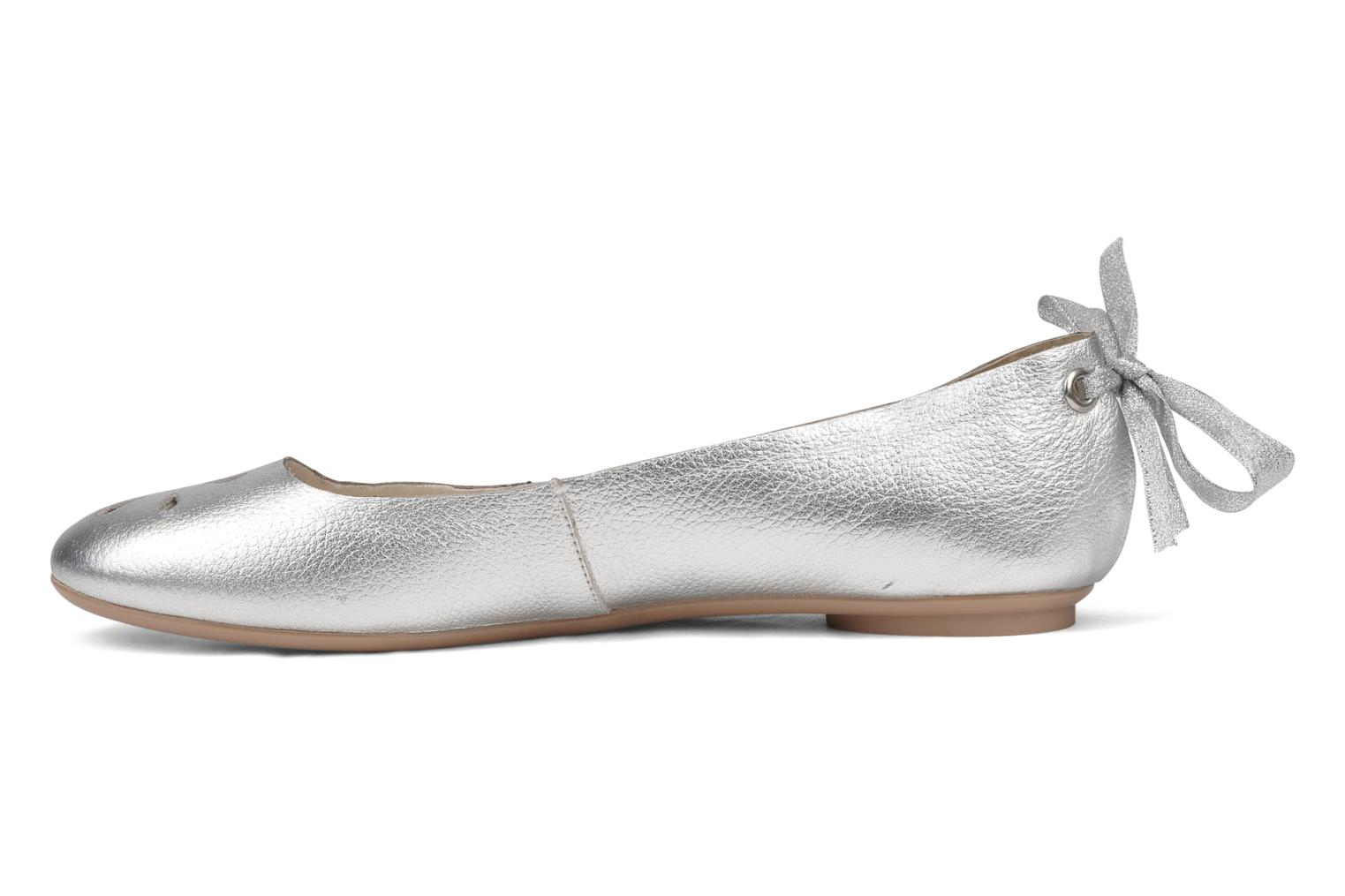 Ballet pumps Mellow Yellow Junior Silver front view