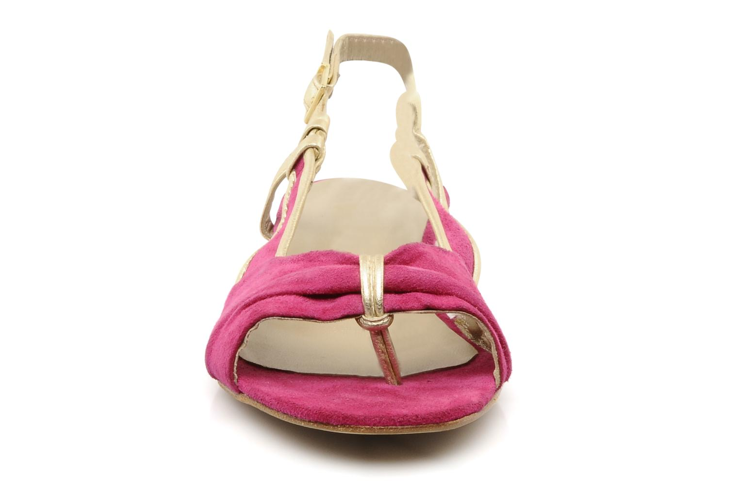 Sandals Mellow Yellow Janette Pink model view