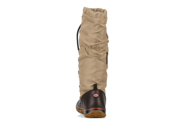 Chaussures de sport Pajar Grip Beige vue droite