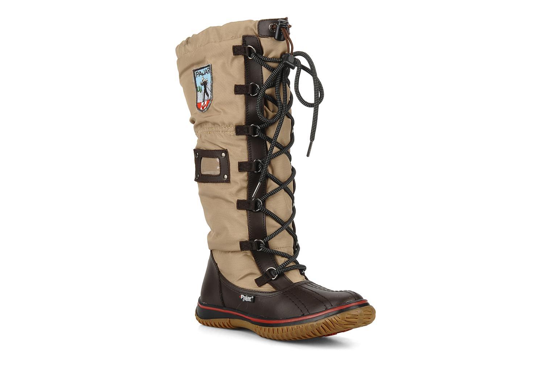 Chaussures de sport Pajar Grip Beige vue détail/paire