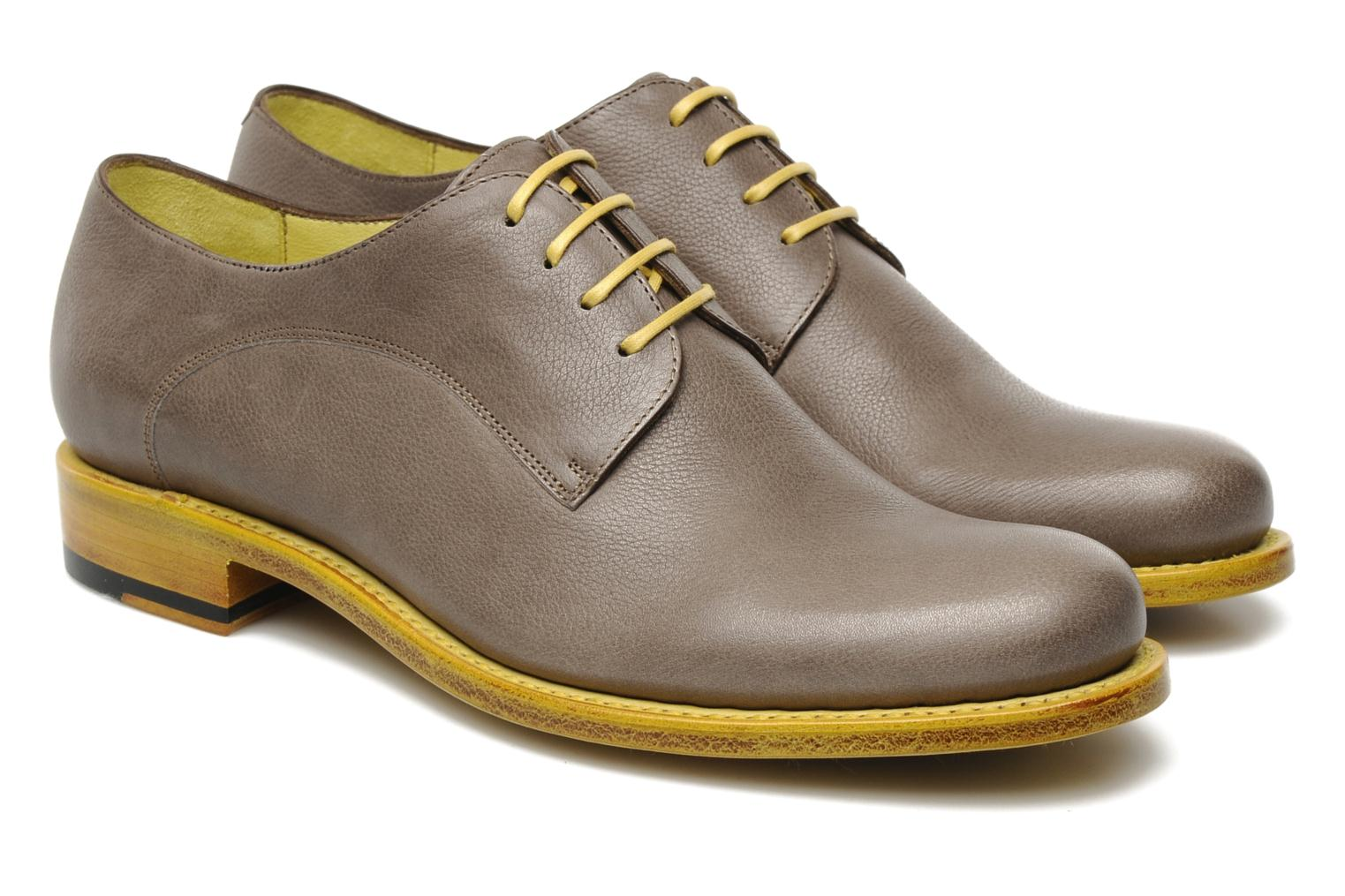 Chaussures à lacets Free Lance Arely derby Vert vue 3/4