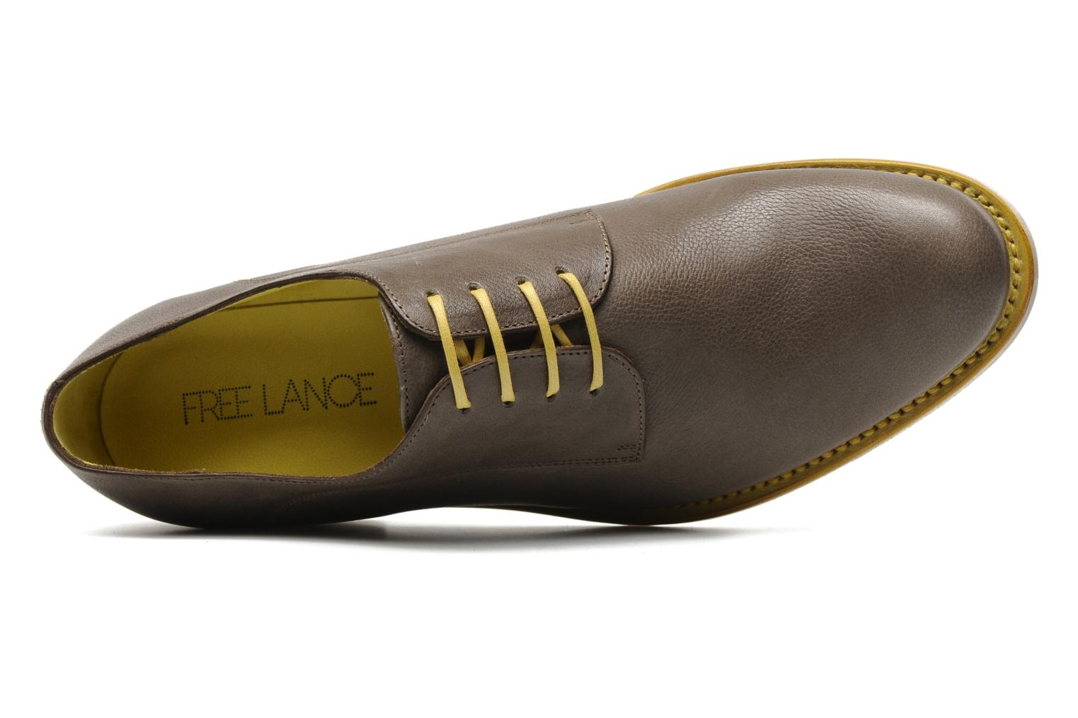 Chaussures à lacets Free Lance Arely derby Vert vue gauche