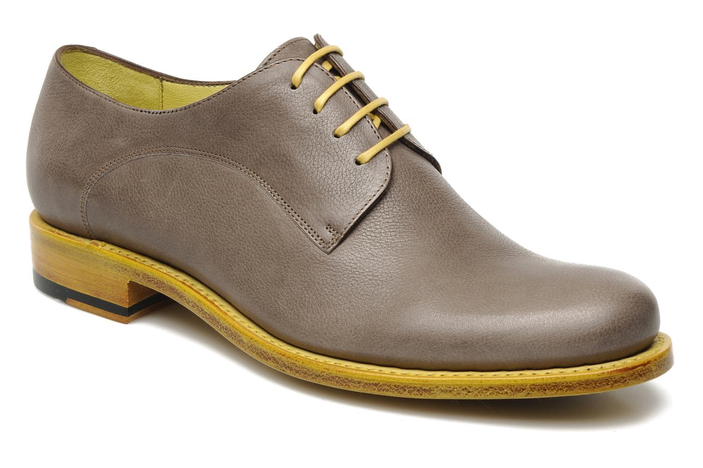 Chaussures à lacets Free Lance Arely derby Vert vue détail/paire