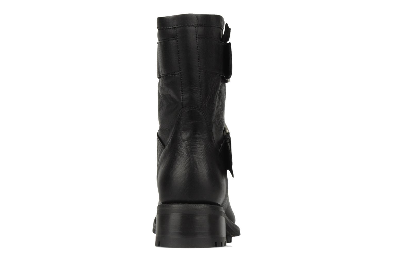 Bottines et boots Free Lance Biker 4 Mini Strap Noir vue droite
