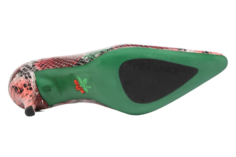 Jaspe 7 pumps Smerald Rouge