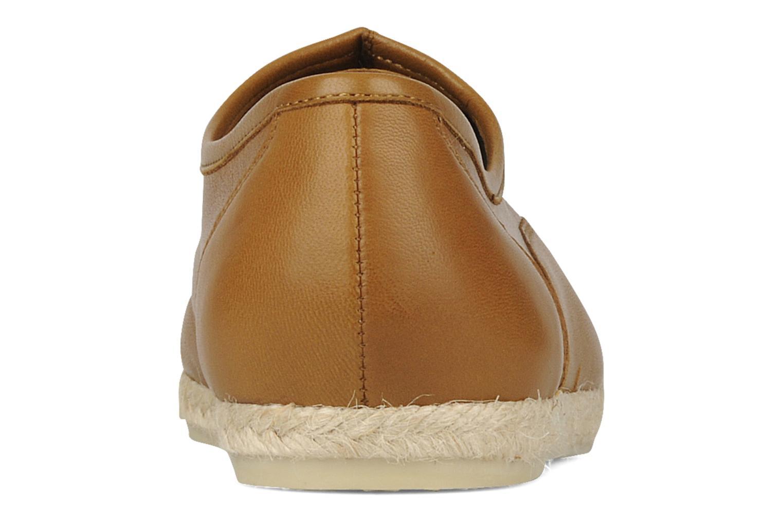 Zapatos con cordones Zespà Salhia Marrón vista lateral derecha