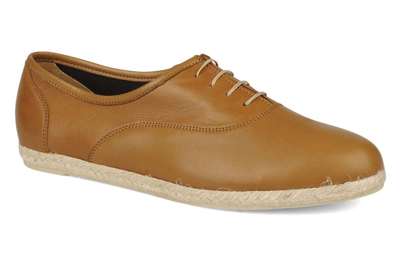 Zapatos con cordones Zespà Salhia Marrón vista de detalle / par