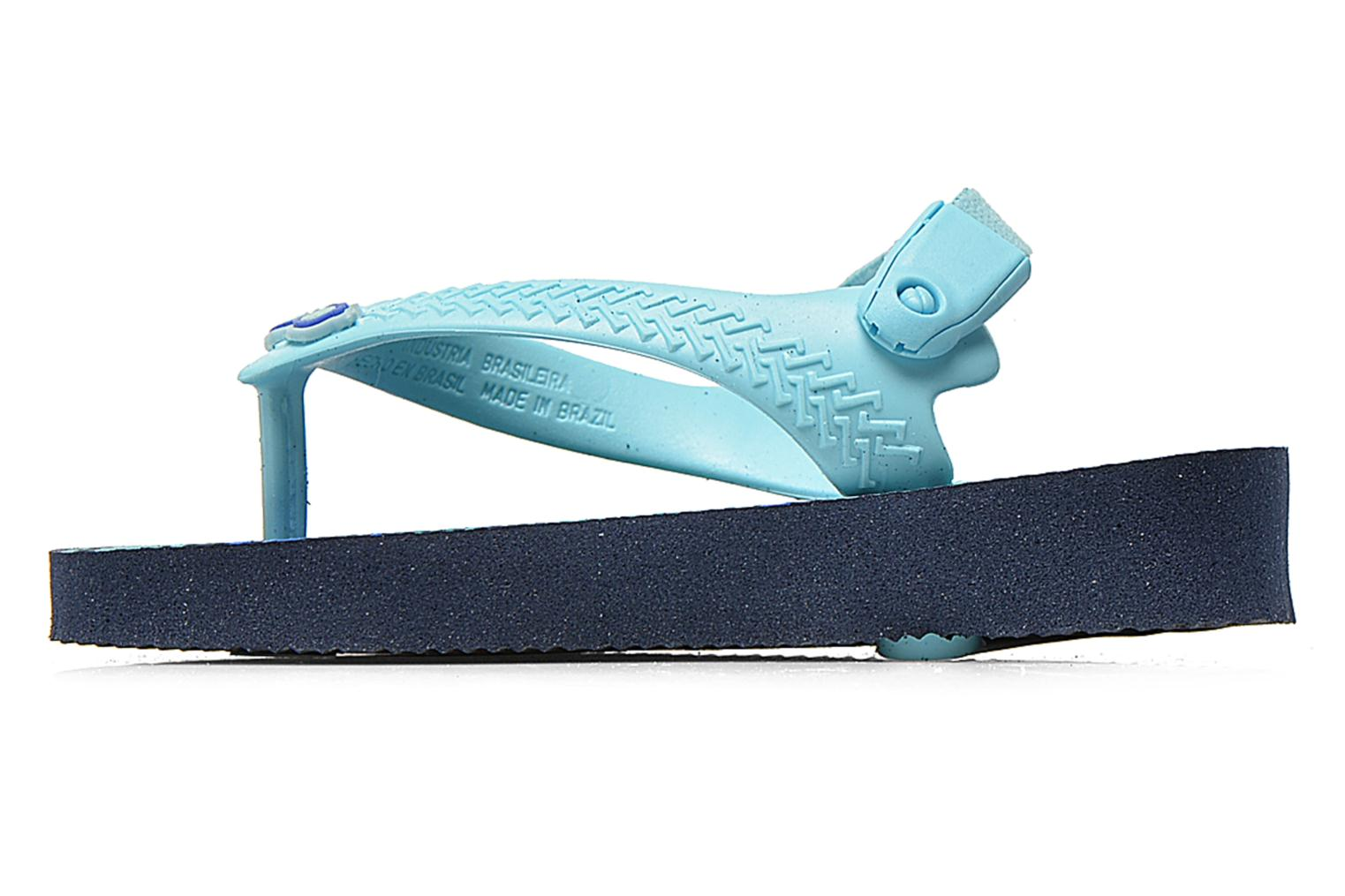 Flip flops Havaianas Baby chic Blue front view
