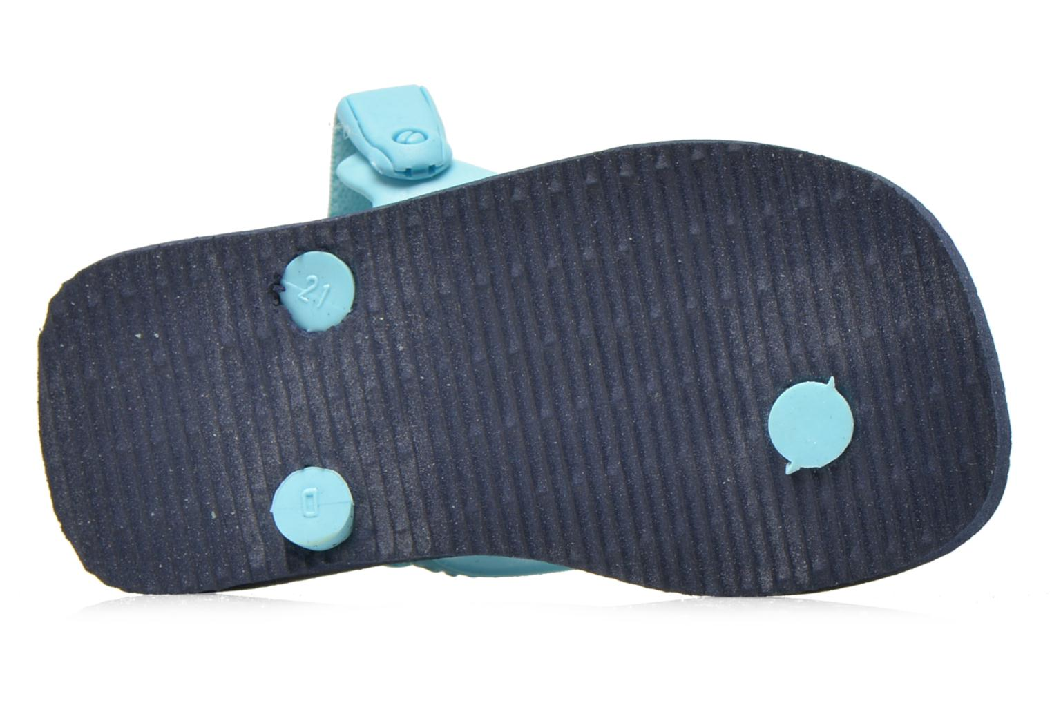 Flip flops Havaianas Baby chic Blue view from above