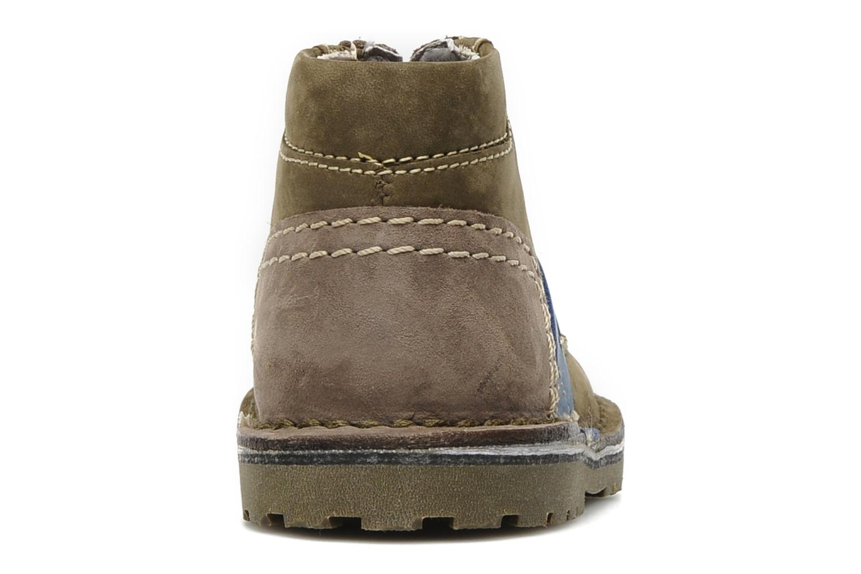 Stiefeletten & Boots Kickers Little grün ansicht von rechts