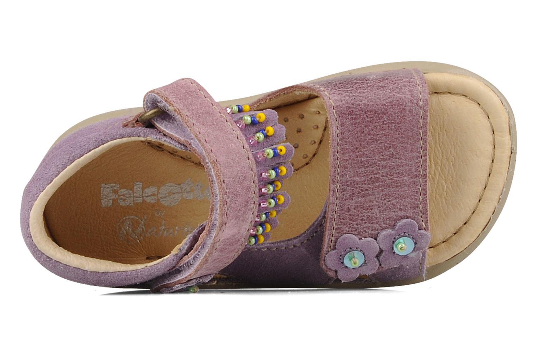 Sandali e scarpe aperte Naturino Karine Viola immagine sinistra