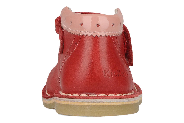 Stiefeletten & Boots Kickers Connie rot ansicht von rechts
