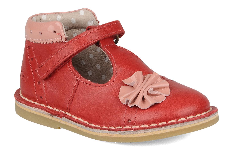 Stiefeletten & Boots Kickers Connie rot detaillierte ansicht/modell