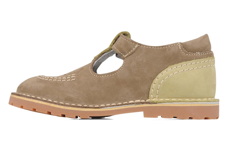 Stiefeletten & Boots Kickers Liko grün ansicht von vorne