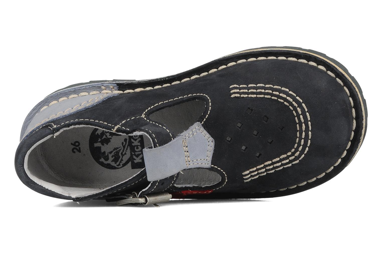 Stiefeletten & Boots Kickers Liko blau ansicht von links