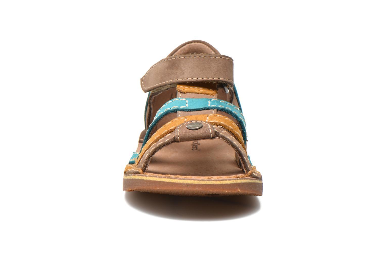 Sandali e scarpe aperte Kickers Woopy Multicolore modello indossato