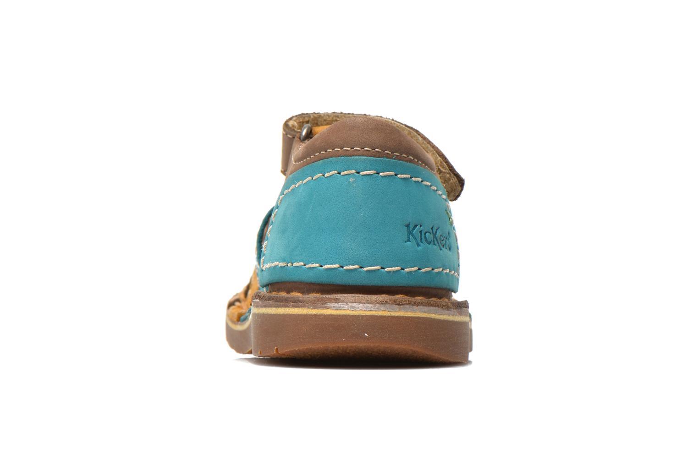 Sandali e scarpe aperte Kickers Woopy Multicolore immagine destra