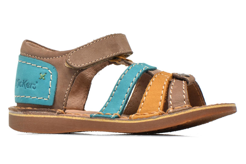 Sandali e scarpe aperte Kickers Woopy Multicolore immagine posteriore