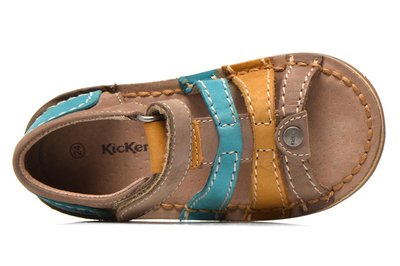 Sandali e scarpe aperte Kickers Woopy Multicolore immagine sinistra