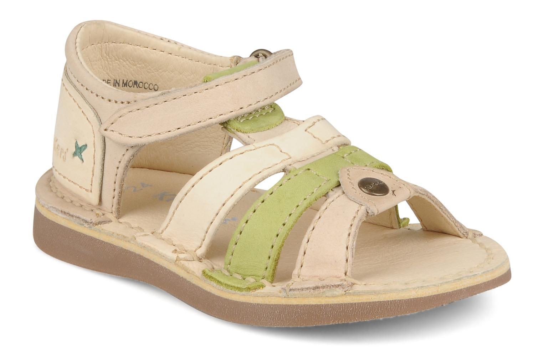 Sandales et nu-pieds Kickers Woopy Beige vue détail/paire