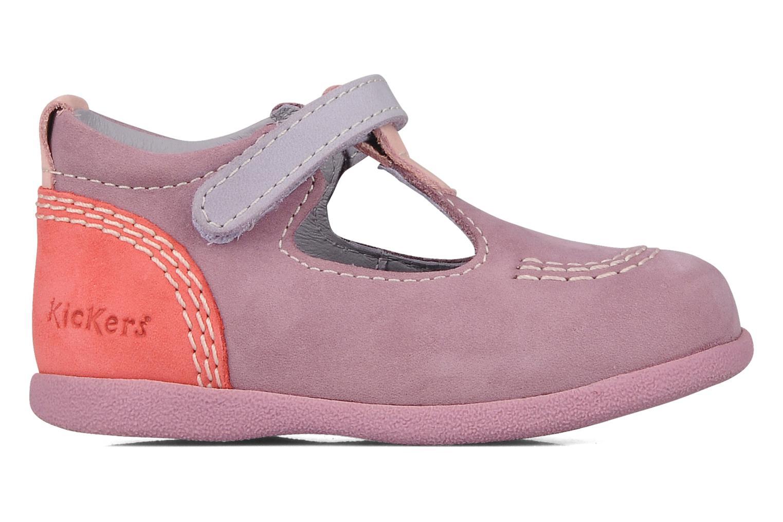 Stiefeletten & Boots Kickers Babyfrench lila ansicht von hinten