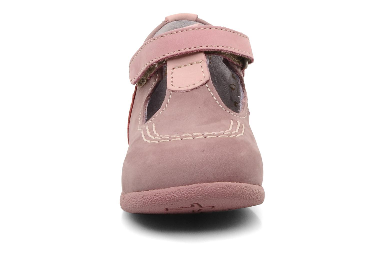 Stiefeletten & Boots Kickers Babyfrench rosa schuhe getragen