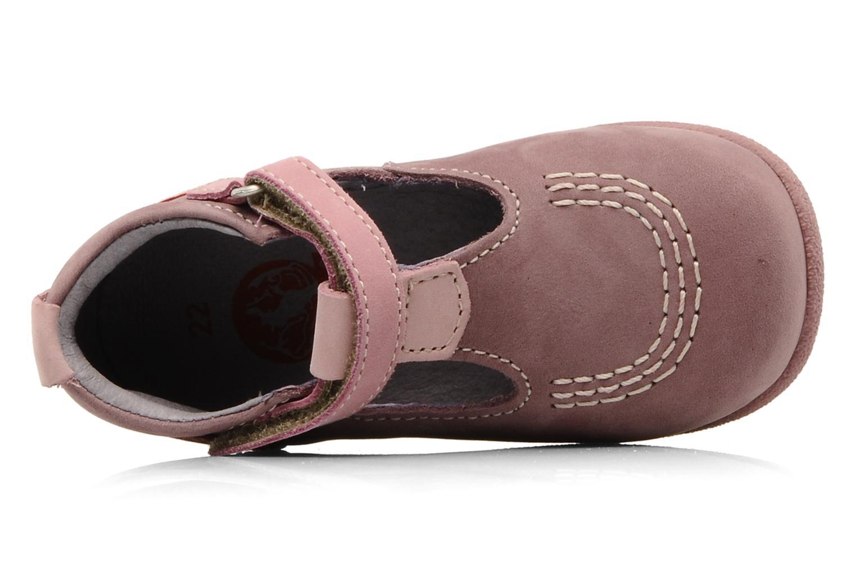 Stiefeletten & Boots Kickers Babyfrench rosa ansicht von links